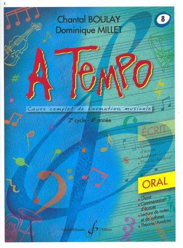A tempo volume 8 par Chantal Boulay