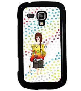 PRINTVISA Cute Girl Case Cover for Samsung Galaxy S Duos 2 S7582