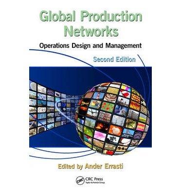 Portada del libro [(Global Production Networks: Operations Design and Management )] [Author: Ander Errasti] [Jun-2013]
