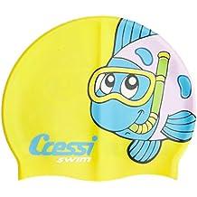 ... de baño. Cressi - Gorro natación y piscina infantil silicona dc9ef722e32