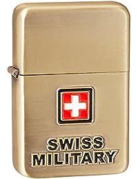 Swiss Military Golden Travel Lighter (LIG-6)