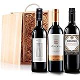 Sendagift by Virgin Wines Blockbusting Red Wine Gift Trio In Wooden Gift Box