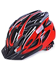 Fashionwu Ultralight Bicycle Helmet Integrated Molding Breathable Cycling Helmet for Man Woman