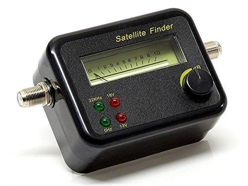 DUR-line SF 2400 Sat Finder / Satellitenmessgerät Messgerät zur exakten Justierung Ihrer Satelliten-Antennen mit hoher Eingangsempfindlichkeit (2 Stück)