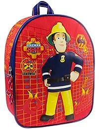Preisvergleich für Feuerwehrmann Sam Kindergartenrucksack Rucksack 31x25x10 cm