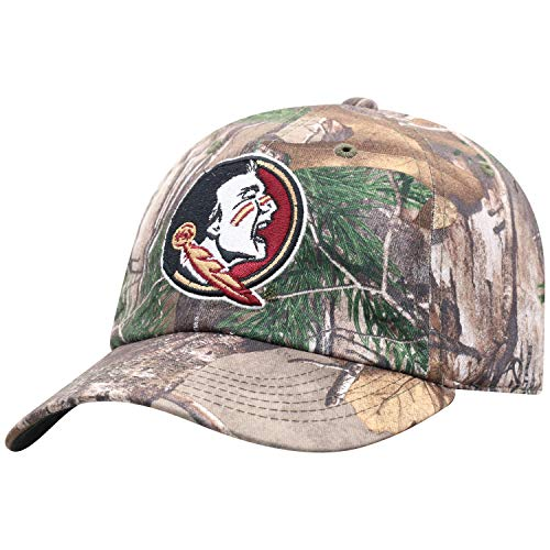 Top of the World NCAA Florida State Seminoles Men's Real Tree Camo Adjustable Icon Hat, Real Tree (State Florida Seminoles Hat)