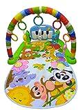 #10: WonderKart Kick And Play Musical Piano Gym With Hanging Toys - Color/Print May Vary