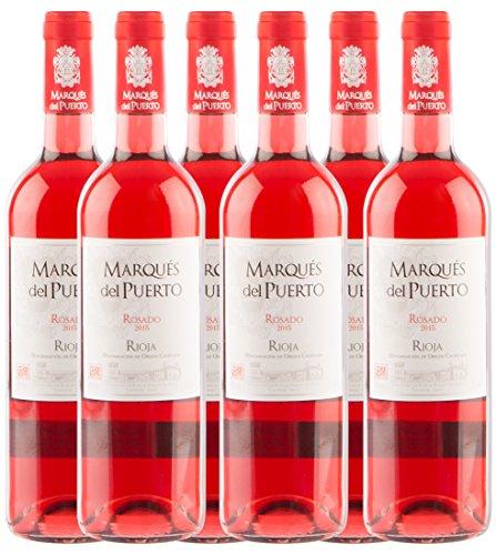Marqués del Puerto Rosado, spanischer Rioja Roséwein (6 x 0.75 l)