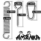 extra schwere Befestigung aus Metall bis 150 KG für Hängestühle und Hängematten - 5