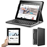 Anker Bluetooth Folio Keyboard Case for iPad 4 / 3 / 2 - Smart Case with Auto Sleep / Wake, Comfortable Keys and Extra Long Battery Life