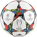 Official Adidas UEFA CHAMPIONS LEAGUE Football 2015 (Berlin White, 5)