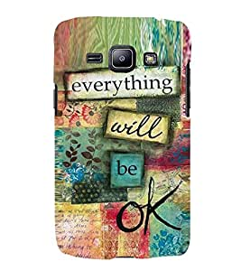 Printvisa Premium Back Cover Multicolour Confidence Quote Design For Samsung Galaxy J1 (2016)::Samsung Galaxy J1 (2016) Duos with dual-SIM card slots