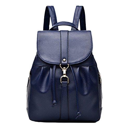 Student Rucksack Umhängetasche Handtasche Mode Freizeit Wild Blue