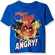 Angry Birds Boys' Short Sleeve T-S