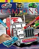 Les camions : Dessin, coloriages, jeux plus autocollants