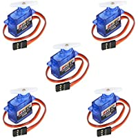 RCmall Feetech FS90R 360 Degree Continuous Rotation Micro RC Servo 6V 1.5KG (5pcs pack) - Compare prices on radiocontrollers.eu