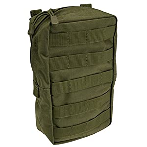 """51j6wUWZYLL. SS300  - 5.11 Tactical 6"""" x 10"""" All Weather Nylon Vertical Molle Pouch, YKK Zipper Hardware, Style 58717"""