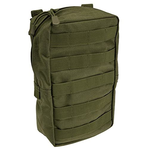 5.11 Tactical 6″ x 10″ All Weather Nylon Vertical Molle Pouch, YKK Zipper Hardware, Style...