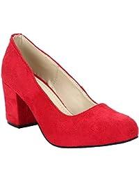 Glitzy Galz Women Solid Print Casual Heel