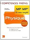 Physique 2e année MP MP*