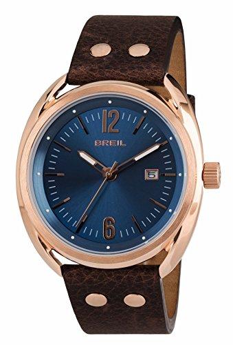 Breil Reloj Analógico para Hombre de Cuarzo con Correa en Cuero TW1673