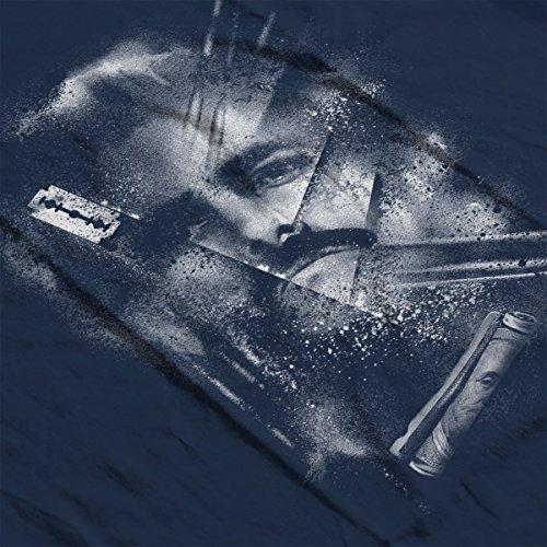 Narco Pablo Escobar Lines Women's Vest Navy Blue