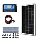 ECO-WORTHY 100W Mono Panel Solar Kits