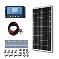 100W Solar Panel 12V Battery Charge System 3