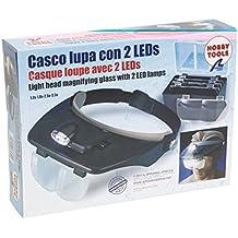 Latina Gafas Lupas 2 LED