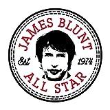 Cloud City 7 Converse James Blunt All Star Men's Baseball Long Sleeved T-Shirt