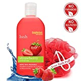 BodyHerbals Lush, Strawberry Shower Gel With Skin Conditioners (200ml) Beauty, Bath & Shower, Soaps & Body Washes, Body Wash Gels Amazon