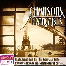 Coffret 6 CD : Trésors de la Chanson Française
