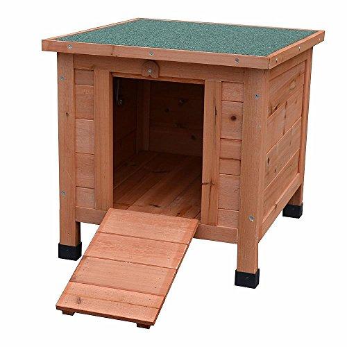 Hundehütte / Wurfkiste aus Holz ca. 50 cm x 45 cm x 43 cm - 2
