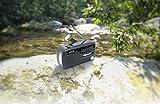 Muse MH-07DS tragbares Kurbel-Radio, Weltempfänger mit Taschenlampe und Solar-Ladefunktion (Dynamo, Handy-Lader, Solar, USB, Mini-USB) - 4