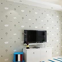 wallpaper de habitacin de nonwoven infantilnio y nia de dibujos animados fondos