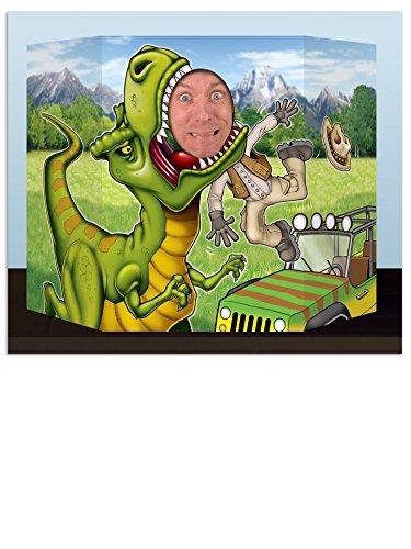 Generique - Passe tête Dinosaure 94 x 63,5 cm