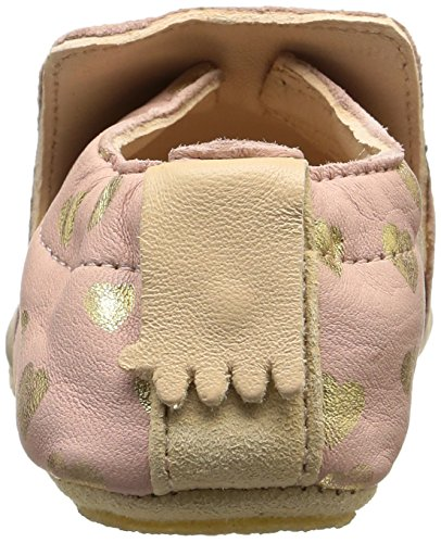Easy Peasy Blublu Lovely, Chaussures de Naissance Bébé Fille Rose (guimauve/or)
