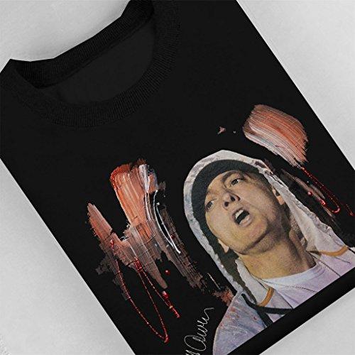 Sidney Maurer Eminem Official Women's Sweatshirt Black