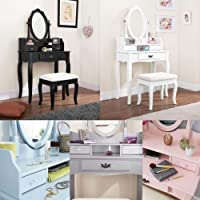 Amazon.co.uk: Grey - Dressing Tables / Bedroom Furniture: Home & Kitchen