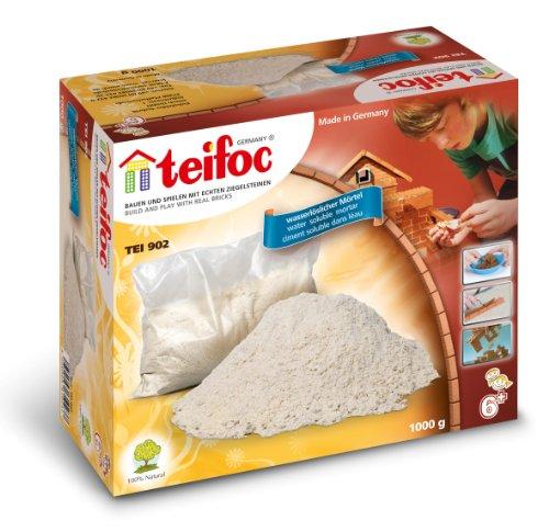 Teifoc Steinbaukästen - TEI 902 - Zement 1000 g