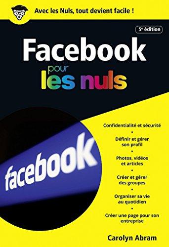 Facebook 5e édition poche pour les Nuls (POCHE NULS) par Leah PEARLMAN