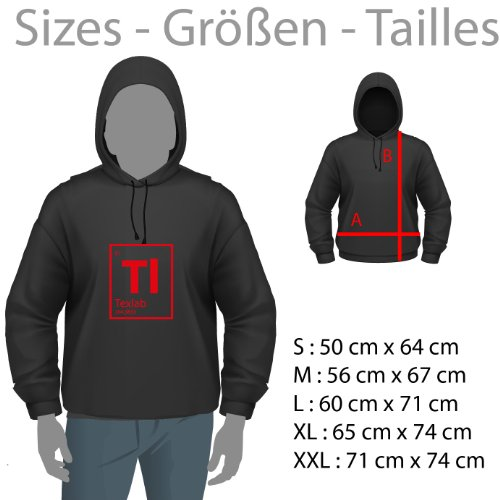 NERDO - The Great Ramen - Herren Kapuzenpullover Schwarz
