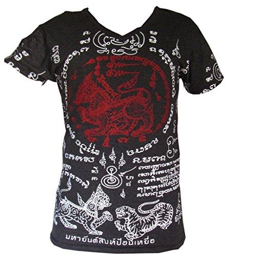 PANASIAM T-Shirt Work Yantra Singha Black L