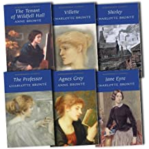 Charlotte Bronte Collection 6 Books Set Pack RRP: £33.94 (Wordsworth Classics) (The Professor, Shirley, Jane Eyre, Villette, Agnes Grey, The Tenant of Wildfell Hall)