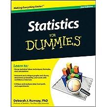 Statistics For Dummies by Deborah J. Rumsey (2011-05-03)