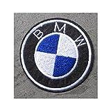 hotrodspirit–Patch BMW Logo Rund Ecusson-zum Aufbügeln Auto Motorrad