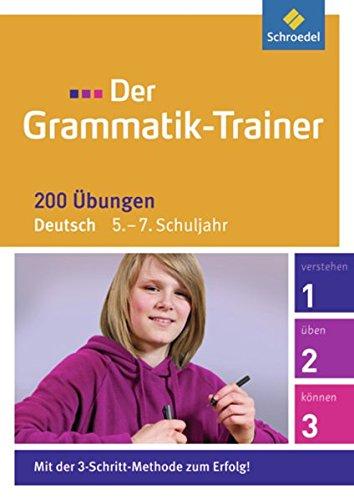 Der Grammatik-Trainer / 200 Übungen: Der Grammatik-Trainer: 5. - 7. Schuljahr: 200 Übungen (Für Erwachsene Sheriff Kostüm)