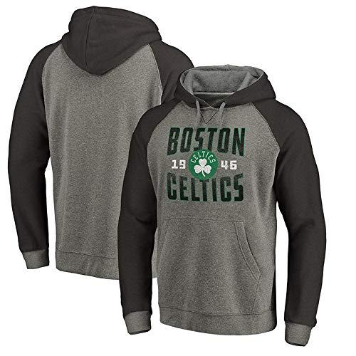 Hoodie Boston Celtics Fashion Lässige Print Sweater Polyesterfaser B-XL -