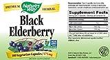 Nature's Way, Black Elderberry, 575 mg, 100 Veggie Caps
