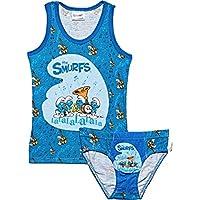 The Smurfs Vest & Underwear Set - Dark Blue(18-24M), Set of 1